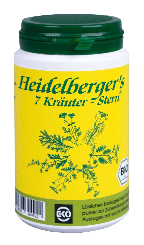Heidelberger's 7 Kräuter-Stern 100g - vegan (bio)