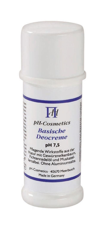 Basische Deocreme (pH 7,7)