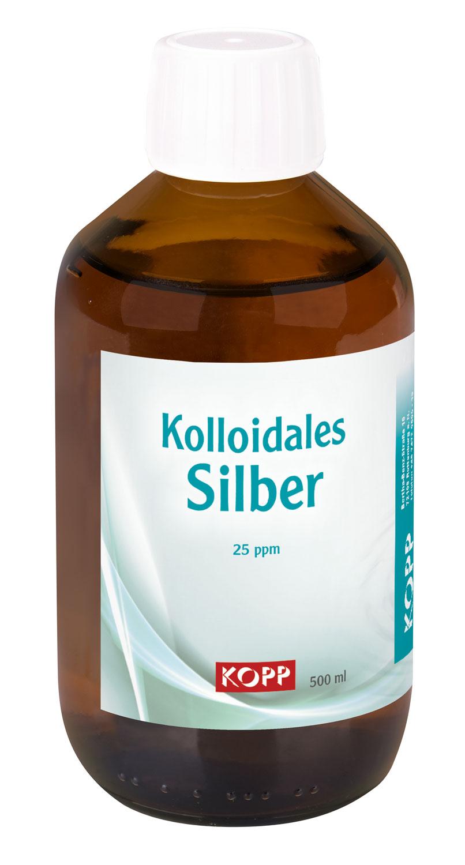 Kolloidales Silber 25ppm, 500 ml