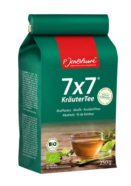 Jentschura® 7 x 7 KräuterTee Bio 250g