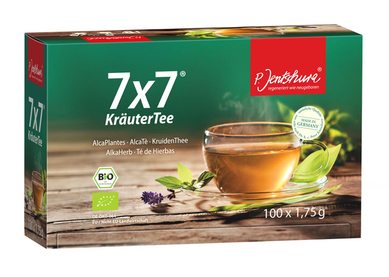 Jentschura® 7 x 7KräuterTee Bio - 100 Teebeutel