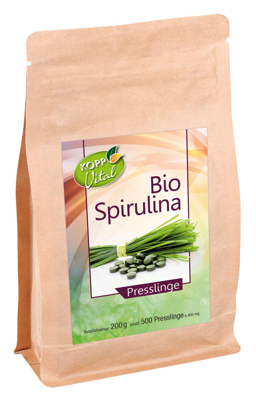 Kopp Vital Bio Spirulina - vegan
