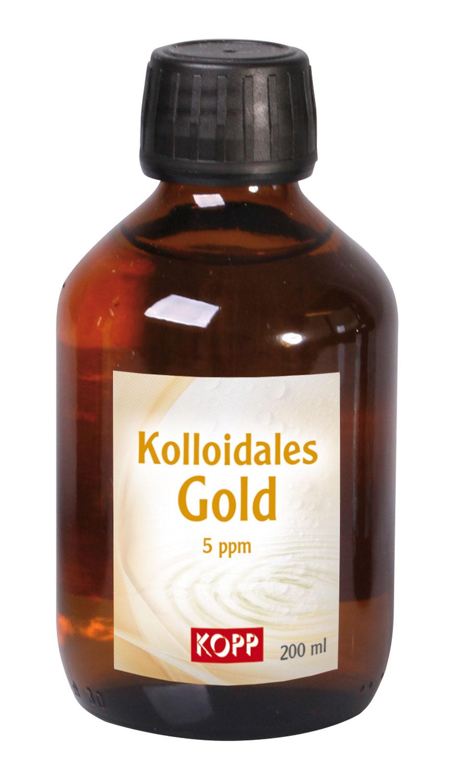 Kolloidales Gold 5 ppm