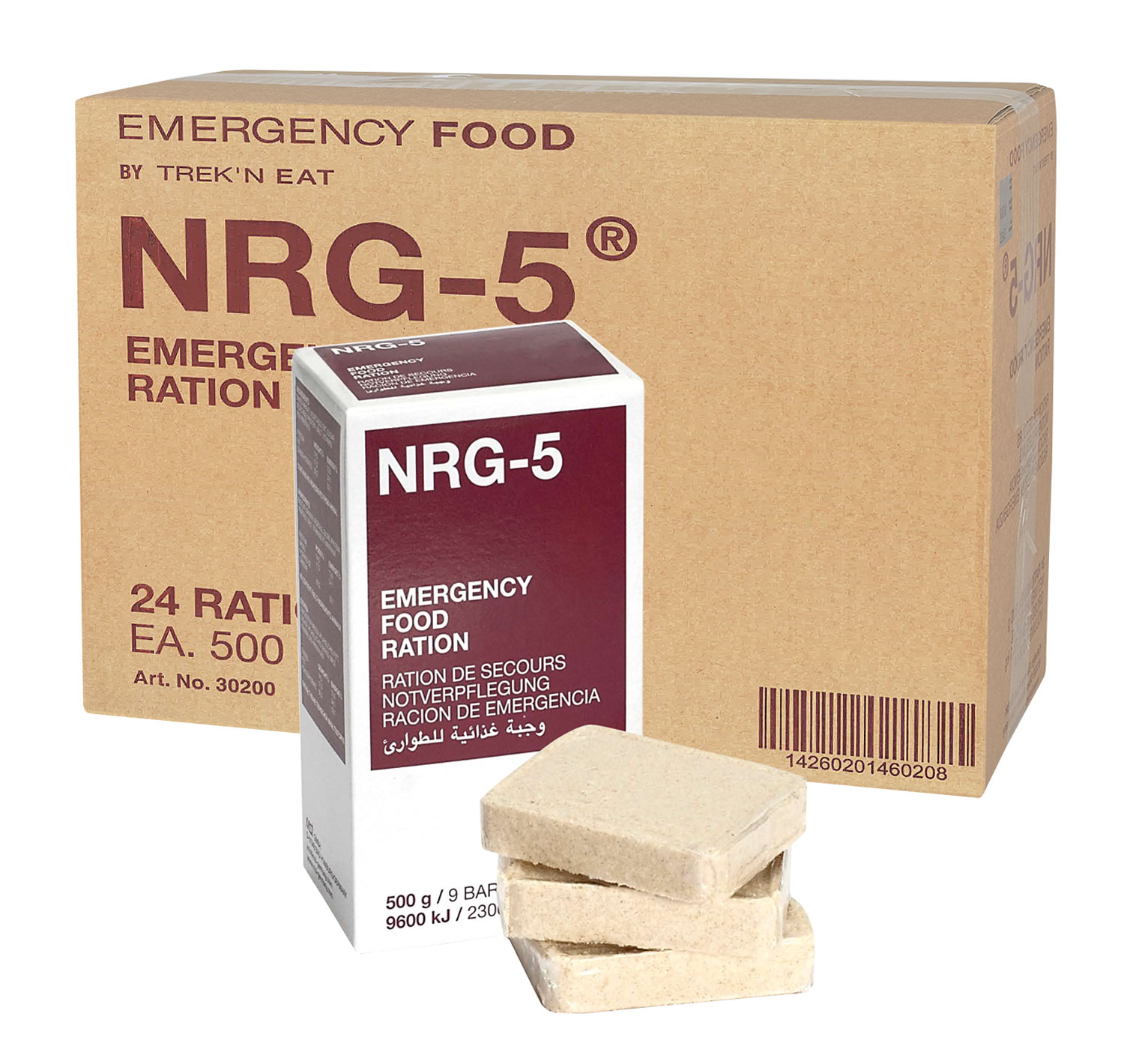 NRG-5 Emergency Food Notration - Karton