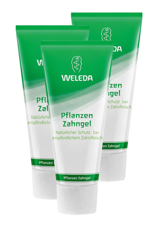 3er Pack Weleda Pflanzen Zahngel 75ml