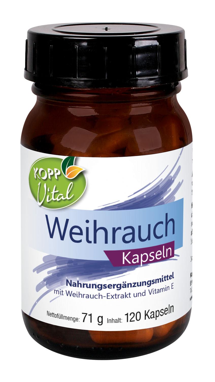Kopp Vital Weihrauch Kapseln - vegan