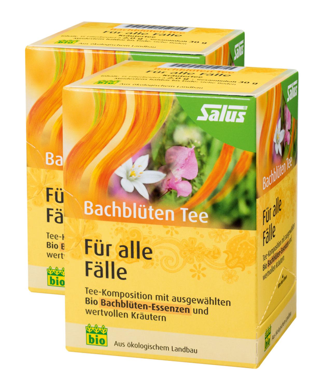 2er Pack Salus Bachblüten Tee Für alle Fälle