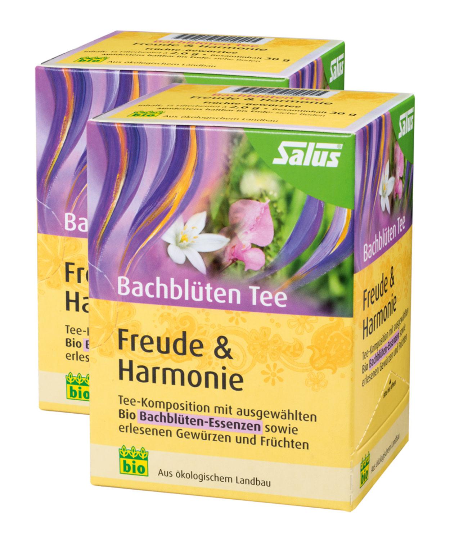 2er Pack Salus Bachblüten Tee Freude & Harmonie - Bio