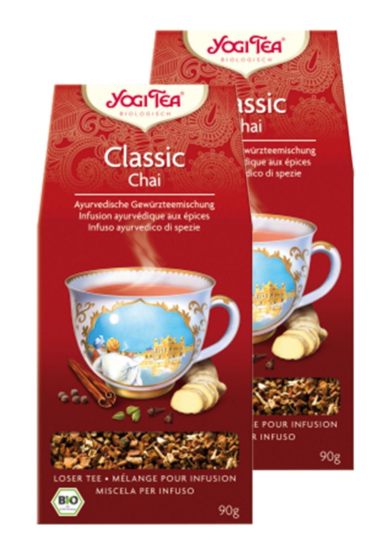 2er Pack Yogi Tea Classic Chai - Bio