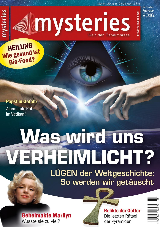Mysteries - Ausgabe Januar/Februar 2016