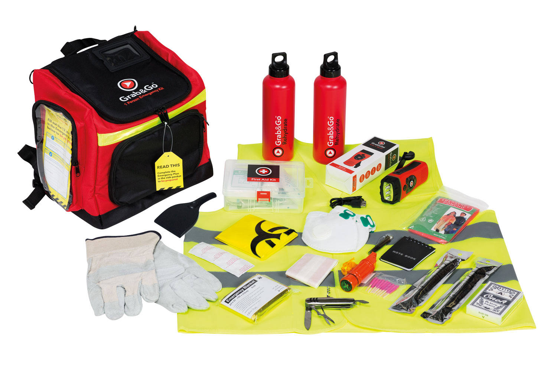 Grab & Go Emergency Kit (Fluchtgepäck) - 72 Stunden eine Person (3 Tage)
