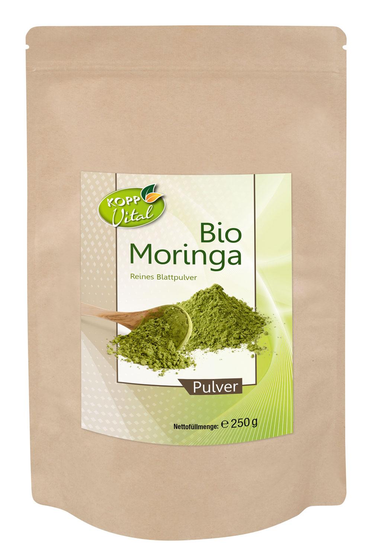 Kopp Vital Bio Moringa Pulver 250g - vegan