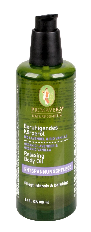 PRIMAVERA® Beruhigendes Körperöl Lavendel Vanille 100ml