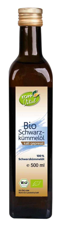 Kopp Vital Bio Schwarzkümmelöl -vegan