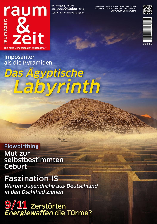 Raum & Zeit Ausgabe September/Oktober 2016