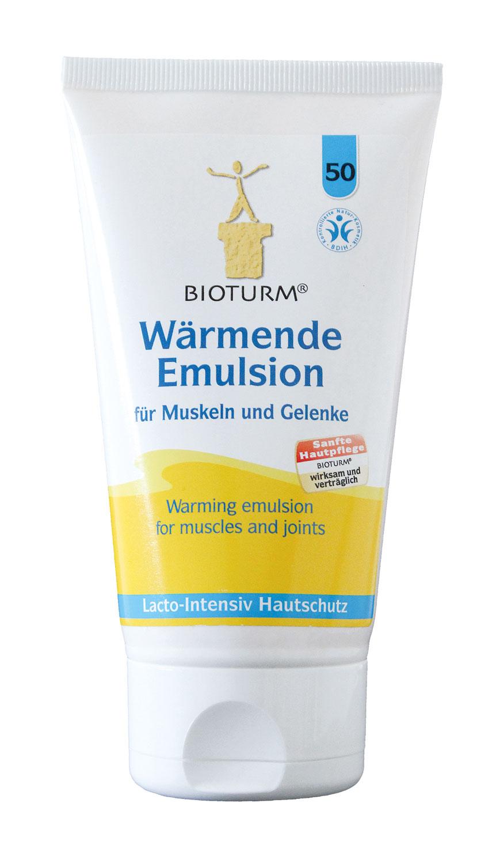 Bioturm wärmende Emulsion für Muskeln und Gelenke
