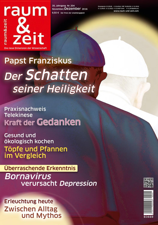 Raum & Zeit Ausgabe 204 - November/Dezember 2016
