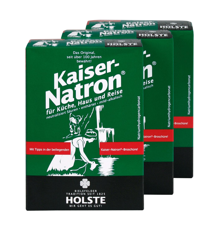 3er-Pack Holste Kaiser-Natron® Pulver - 3 × 250 g