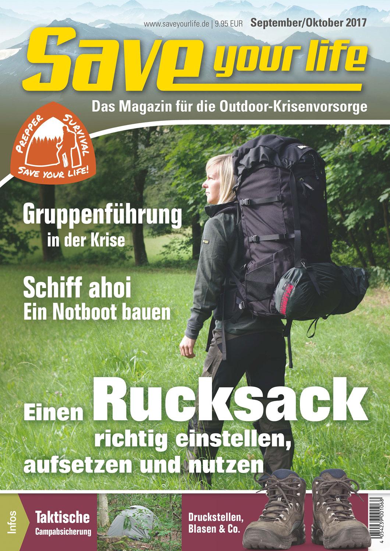 Save your life! Ausgabe September/Oktober 2017