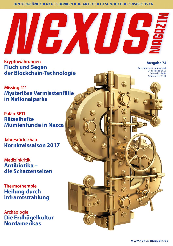 Nexus-Magazin Ausgabe 74 Dezember 2017/Januar 2018