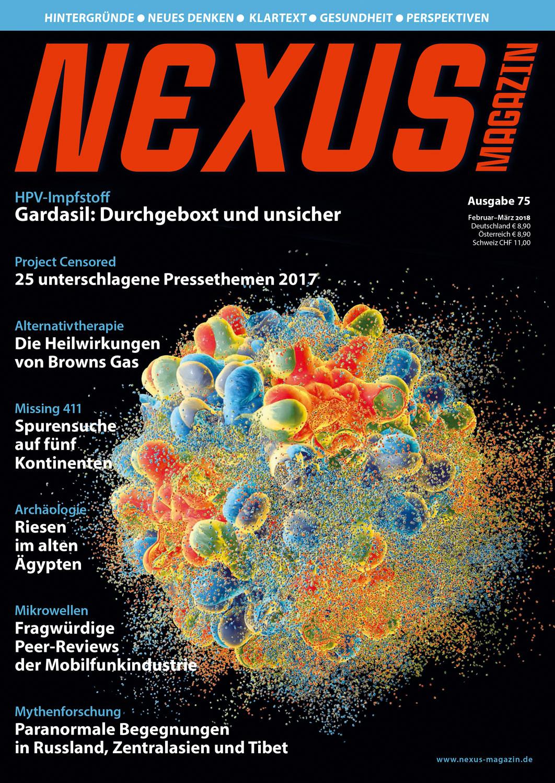 Nexus-Magazin Ausgabe 75 Februar/März 2018