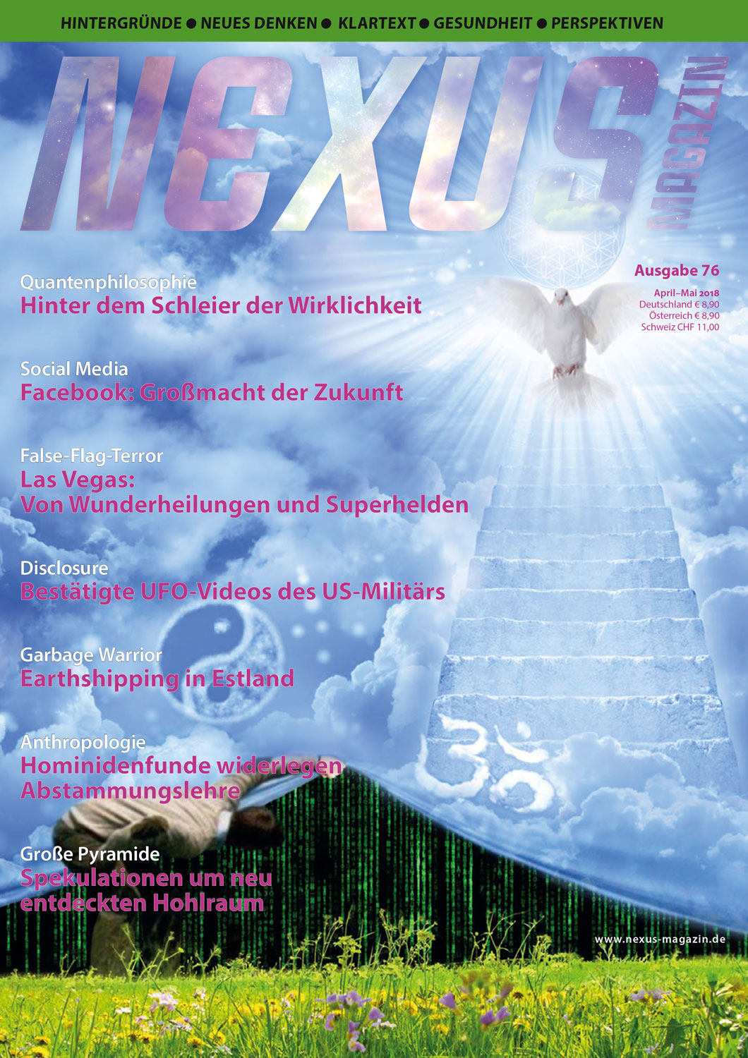 Nexus-Magazin Ausgabe 76 April/Mai 2018