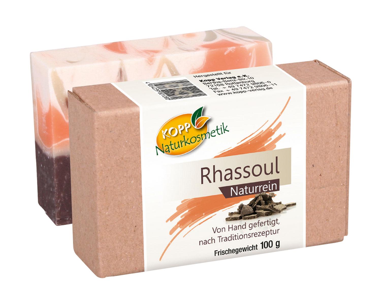 Kopp Naturkosmetik Rhassoul Seife - vegan
