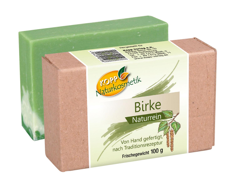 Kopp Naturkosmetik Birke Seife - vegan