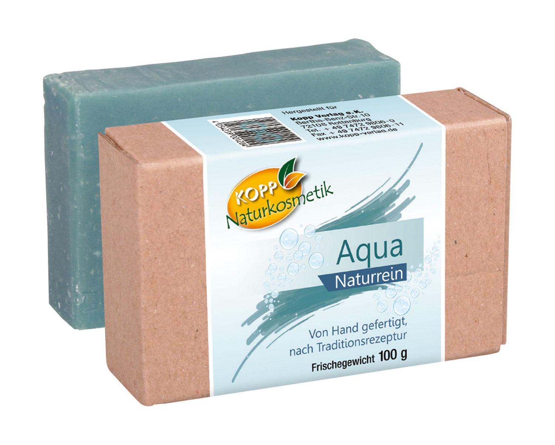 Kopp Naturkosmetik Aqua Seife - vegan
