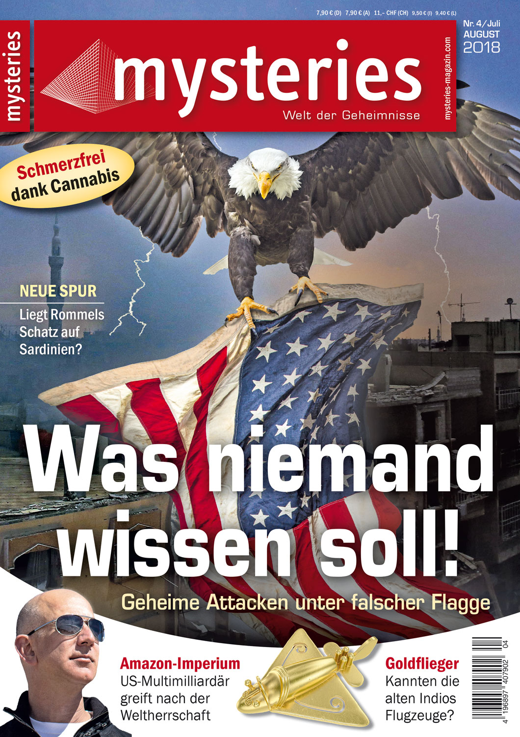 mysteries - Ausgabe Juli/August 2018