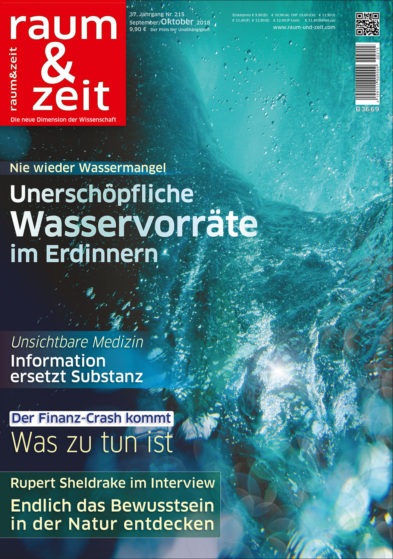 Raum & Zeit Nr. 215 Ausgabe September/Oktober 2018