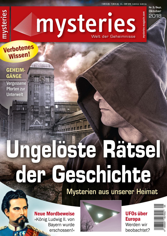 mysteries Ausgabe September/Oktober 2018