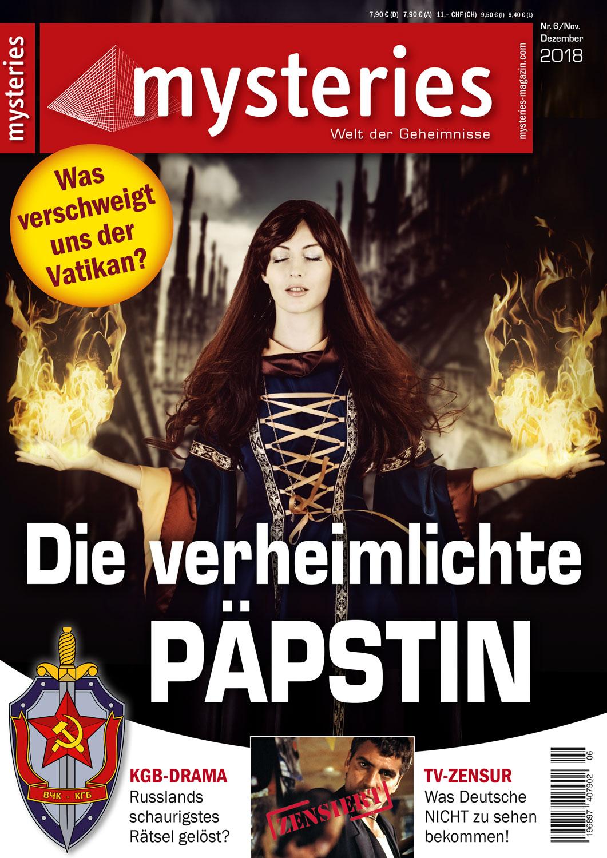 mysteries - Ausgabe November/Dezember 2018