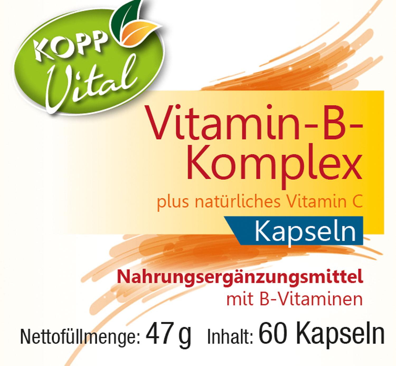 Kopp Vital Vitamin-B-Komplex, Kapseln - vegan %%WSTplProductImgAltSuffix01%%