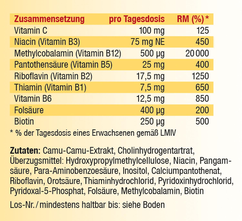 Kopp Vital Vitamin-B-Komplex, Kapseln - vegan %%WSTplProductImgAltSuffix02%%