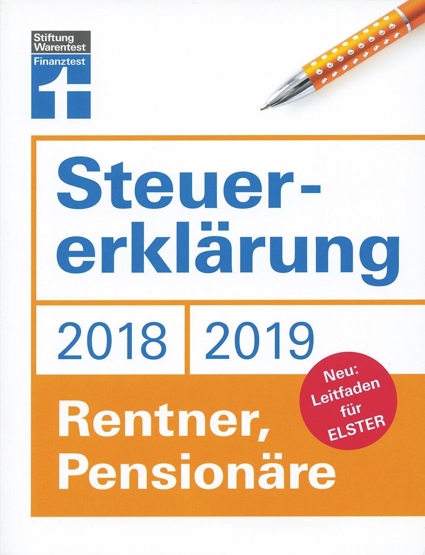 Steuererklärung 2018/2019 - Rentner, Pensionäre