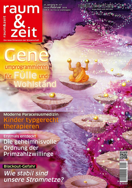 Raum & Zeit Nr. 217 Ausgabe Januar/Februar 2019