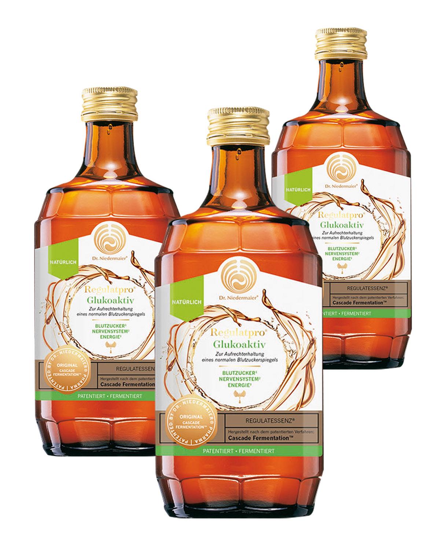 Dr. Niedermaier  ®   Regulatpro  ®   Glukoaktiv 3er-Pack