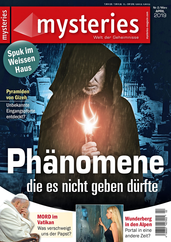 mysteries Ausgabe März/April 2019