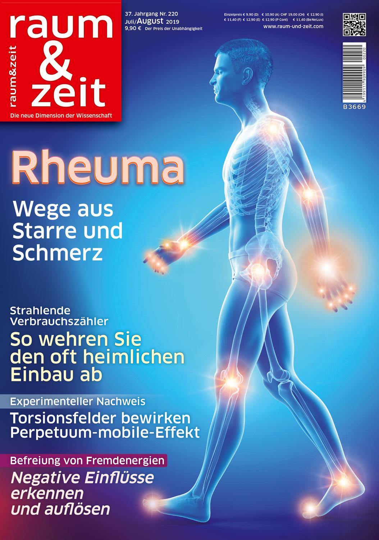 Raum & Zeit Nr. 220 - Ausgabe Juli/August 2019