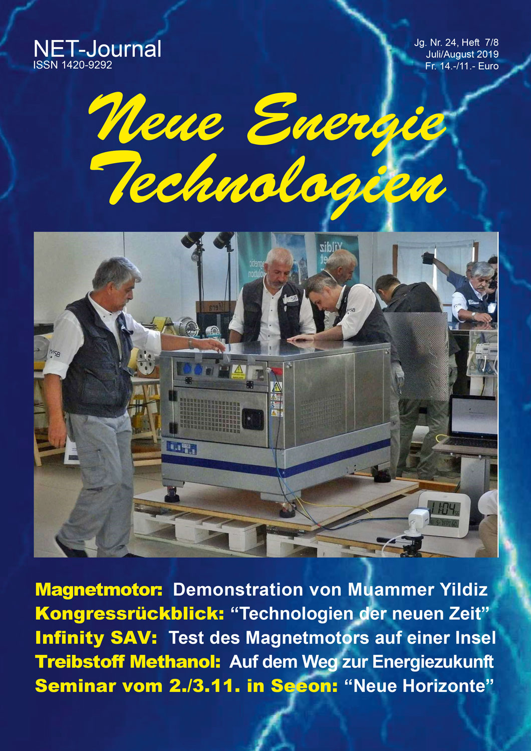 NET-Journal Ausgabe Juli/August 2019