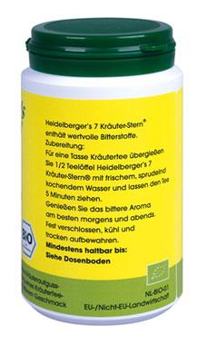 Heidelberger's 7 Kräuter-Stern 100g - vegan (bio)_small01