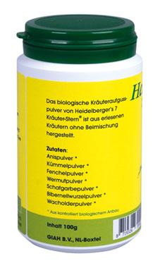 Heidelberger's 7 Kräuter-Stern 100g - vegan (bio)_small02