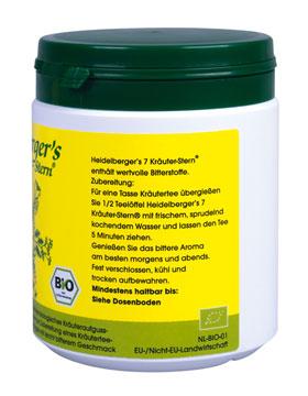 Heidelberger's 7 Kräuter-Stern 250g - vegan (bio)_small01