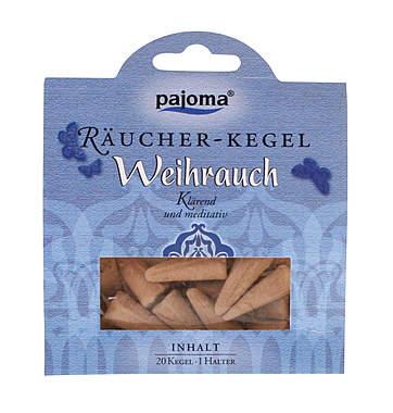 Pajoma Weihrauch Räucher-Kegel
