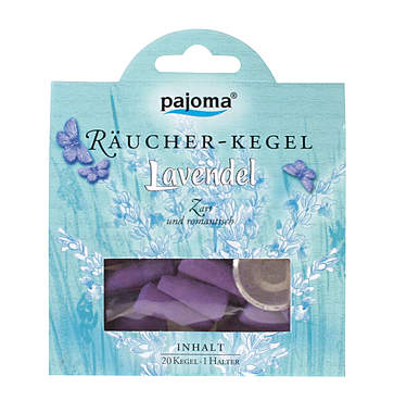 Pajoma Lavendel Räucher-Kegel