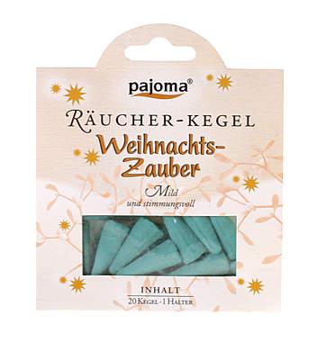 Pajoma Weihnachtszauber Räucher-Kegel_small