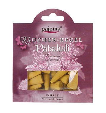 Pajoma Patschuli Räucher-Kegel