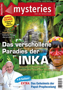 mysteries -Ausgabe Mai/Juni 2013