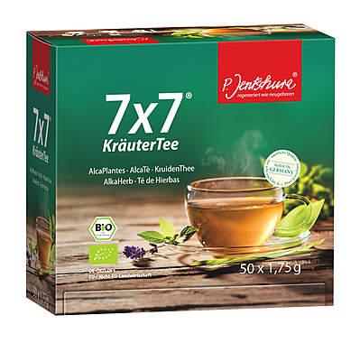 Jentschura® 7 x 7 KräuterTee Bio - 50 Teebeutel